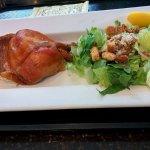 Quarter Chicken with salad