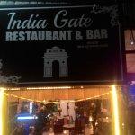 Foto de India gate restaurant & bar