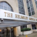 The NY Presbyterian Guest Facility is located within the Helmsley Medical Tower on York & 71st S