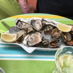 Huitres, moules coques
