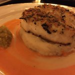 Halibut was outstanding. The jalapeño relish made this dish!!