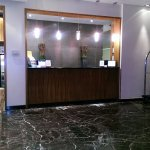 The front desk area