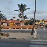 La Cabana and Las Ramblas from across the street