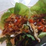 Shitake lettuce wraps