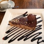 Chocolate & hazelnut cheesecake- pure indulgence!