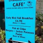 The Embankment Cafe - London (20/Sept/16).
