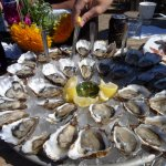 Oysters are the specialty, of course