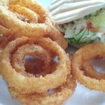 new panko style onion rings