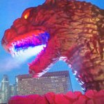 Godzilla from Japan, not eatable.