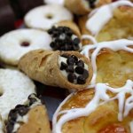 Cannoli, Linzer Cookies, Danish, Chocolate Mousse!