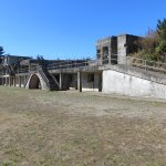 concrete artillery gun battery (historical site), Fort Stevens State Park, OR