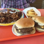 Burgers and Chicken Livers