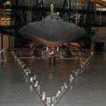 The Stealth bomber - Lockheed SR-71 Blackbird