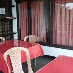 Balcony/breakfast area