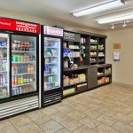 Snacks and beverages available 24/7 from the Candlewood Cupboard