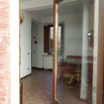 From communal patio to living room, One-bedroom apt Piazza Paradiso, Oct 19-23, 2015