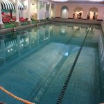 Humongous indoor pool - 9 feet deep!