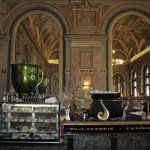 Book Cafe located in an old ball room