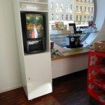 Nespressomaschine und Getränkeautomat