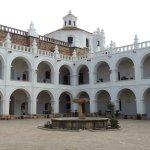 Atractiva arquitectura colonial.