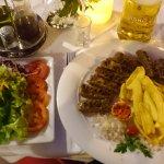 Mixed salad & ćevapčići