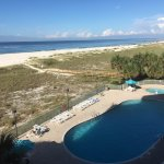 View of the Pool, Beach and Gulf