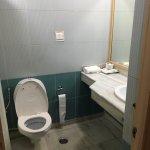 sufficient bathroom