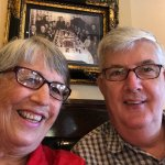 Gary and I at Maggiano's -- just because...