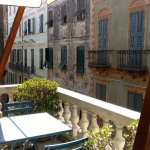 View from shared balcony in dining area - Casa Fenoglio