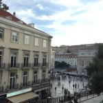 View of Rossio Square from Room
