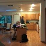 Kitchen/dining of Osprey's Nest