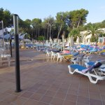 8.30am and all sun beds reserved but no people !!!