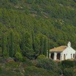 Una de las ermitas que se divisan desde la terraza