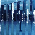 mirrored installation as part of a temporary display at the NGV September 2016