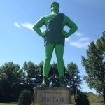 The big green guy