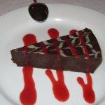 Dense creamy deep chocolate... Have a taste
