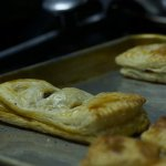 Fresh baked meat pies