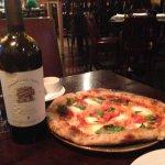 Margharita Pizza and Freemark Abbey Merlot