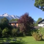 Zugspitze from Hotel Edelweiss lawn