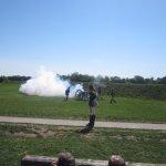 Artillery display