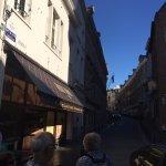 Calle aledaña