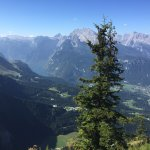 Looking down on Berchtesgaden and Konigsee