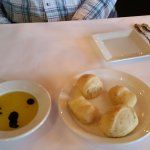 warm rosemary rolls
