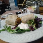 my lunch burrito-oh so good