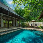 Plunge pool in the Garden Villa at The Banjaran