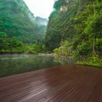 Open deck at The Banjaran