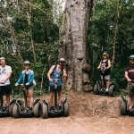 Segway fun i the forest