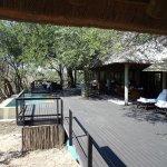 Huge veranda with private pool
