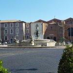 fontaine et Santa Maria degli Angeli
