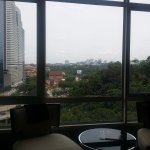 with nice views over the museum and towards KL Sentral.